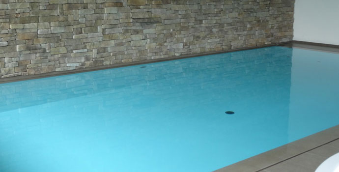 waterproof tanking cementitious system for swimming pool basin and fountain