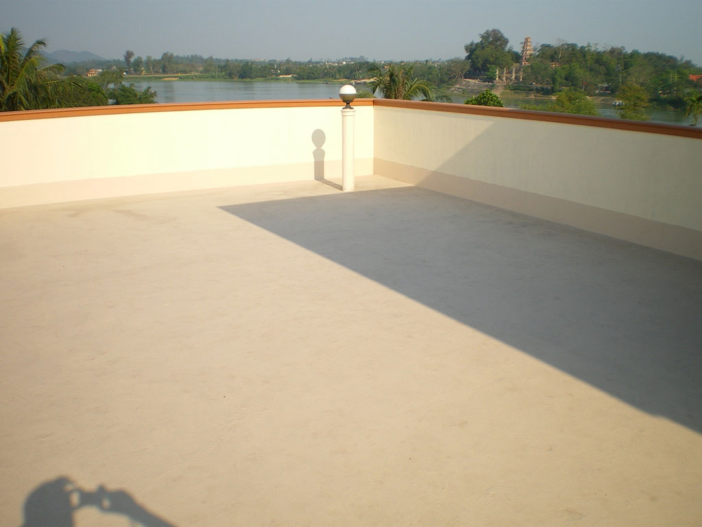 Vid o application tanch it terrasse arcaterrasse - Peinture sol beton exterieur ...