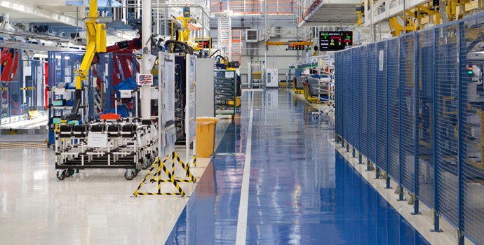 Epoxy Paint for Factory Industry Floor Arcapoxy Heavy Traffic