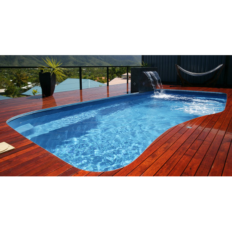 Peinture piscine coque polyester gelcoat carrelage for Piscine monobloc polyester