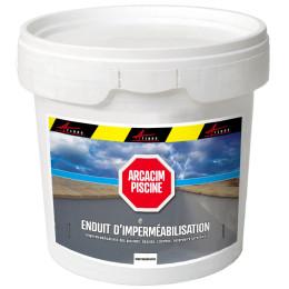 ARCACIM PISCINE - Enduit d'imperméabilisation hydrofuge piscine bassin hydrofuge à base de ciment citerne bac tampon