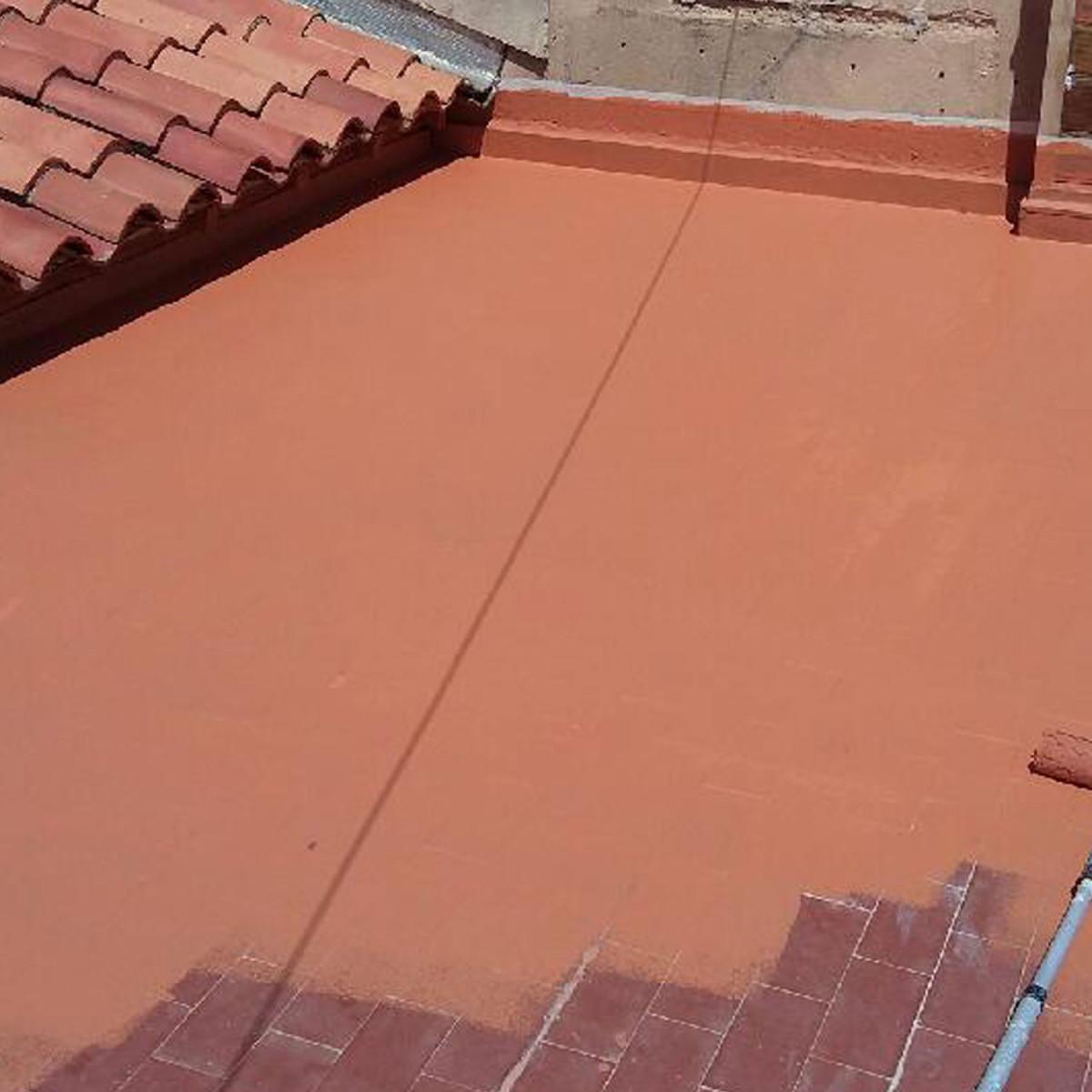 Superieur Etanchit Terrasse Balcons Loggias Peinture Dcorative Et De Protection Pour  Surfaces Circulables With Peinture D Etancheite