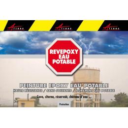 REVEPOXY EAU POTABLE - Peinture revêtement epoxy eau potable ACS cuve citerne réservoir château eau étanchéité imperméable