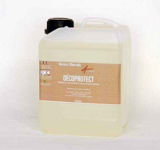 DECOPROTECT - protection eau gras peinture minerale argile chaux