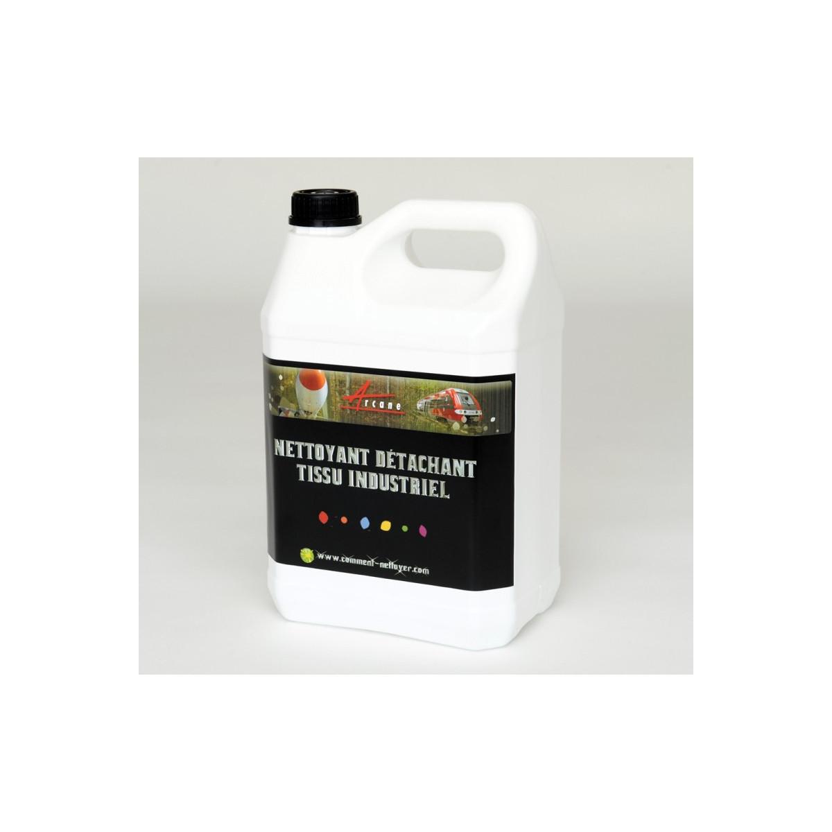 Nettoyant d tachant tissu industriel blanchisserie for Nettoyant pvc professionnel