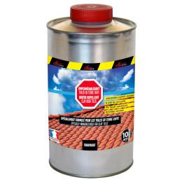 IMPER TUILE TERRE CUITE - Imperméabilisant pour tuiles en terre cuite hydrofuge incolore toiture poreuse