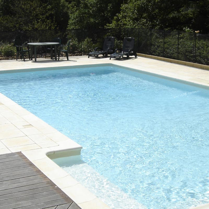 Peinture piscine protection et d coration support b ton et for Protection piscine
