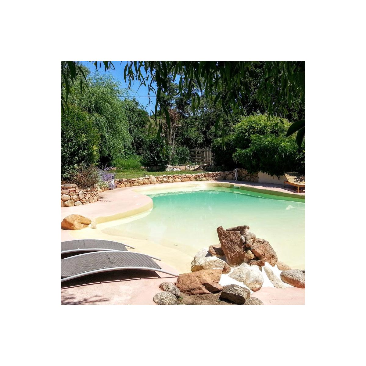 Peinture protection piscine beton ciment décoration bassin