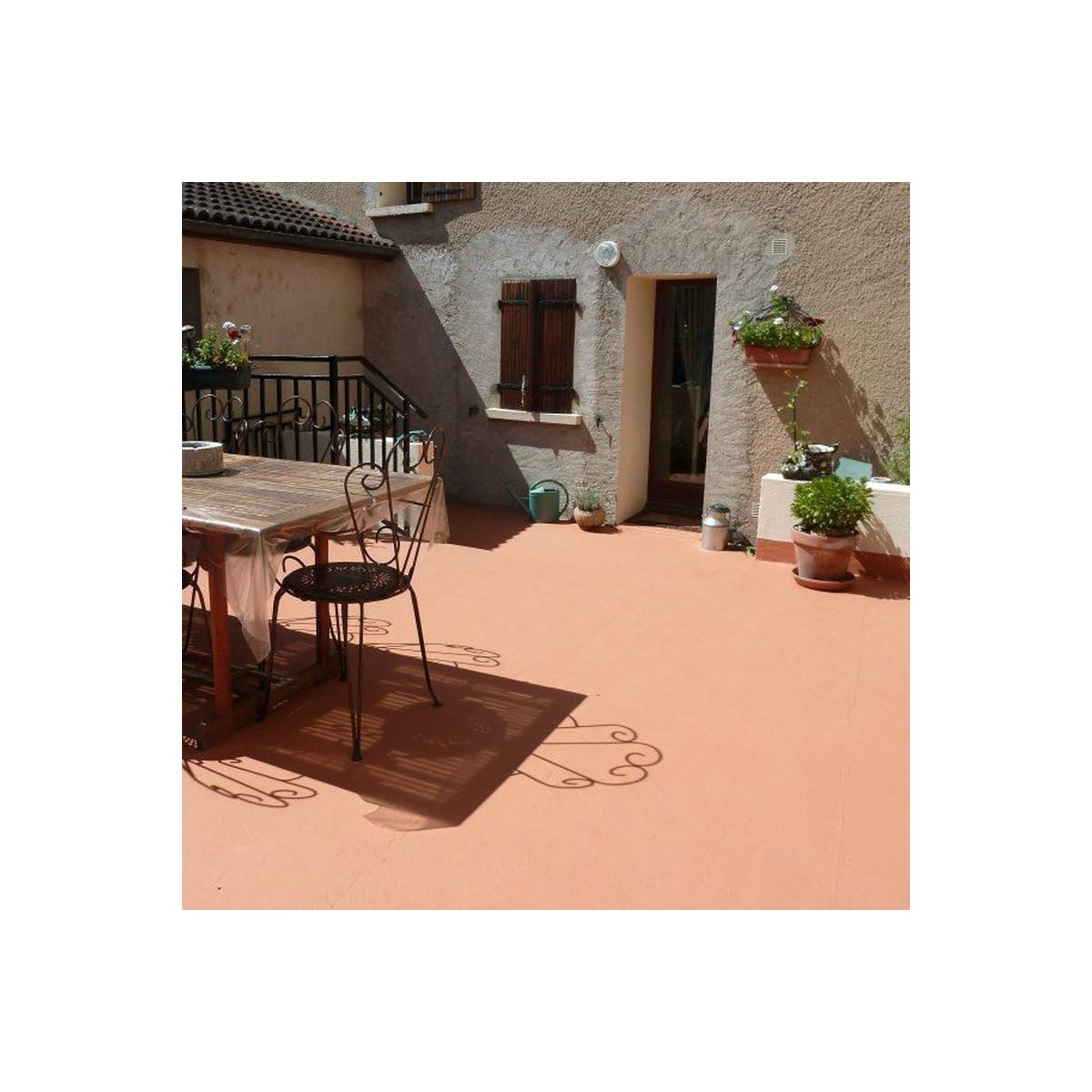 Peinture etancheite exterieur terrasse balcon for Maison etanche