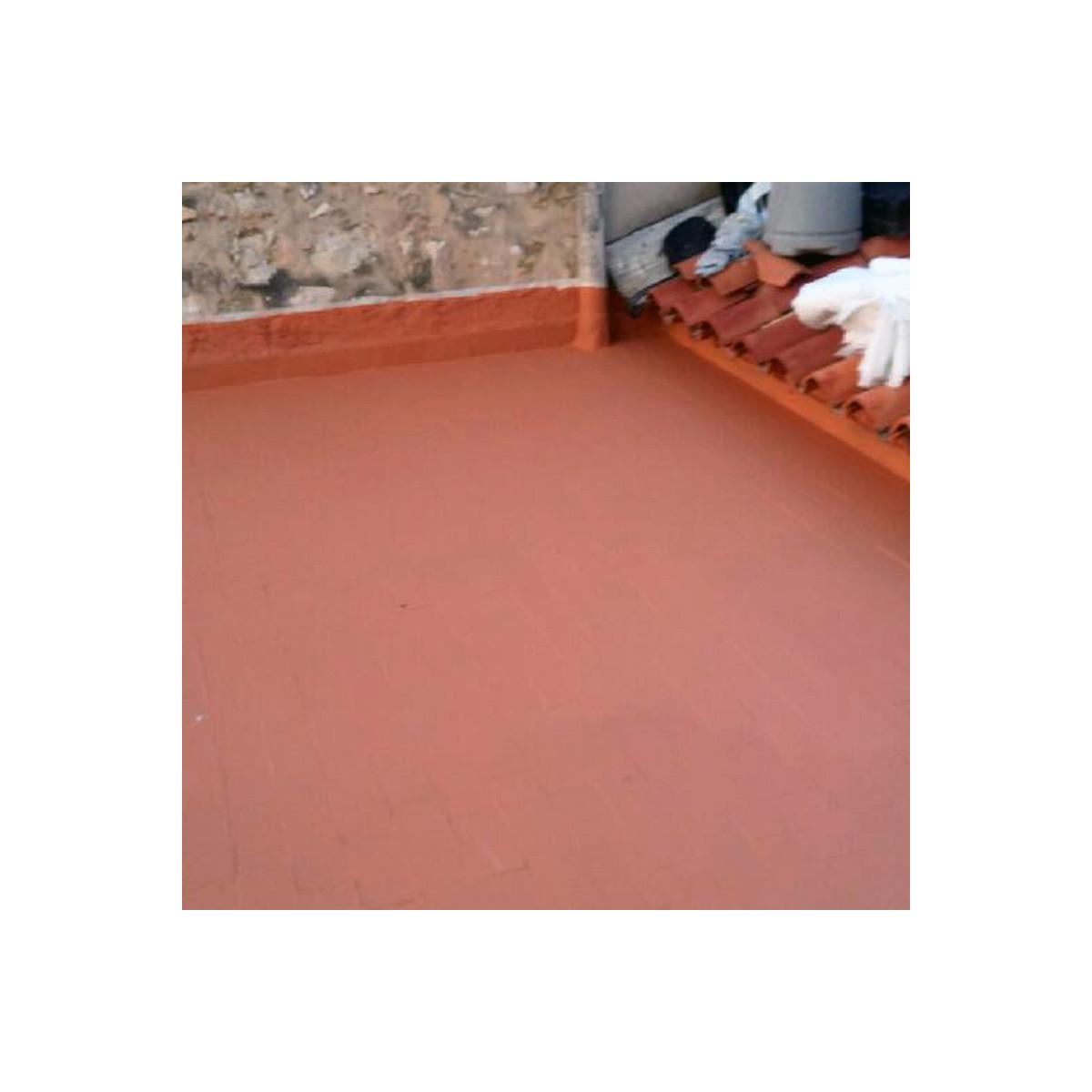 Peinture etancheite toit fissure infiltration for Peinture pour carrelage exterieur