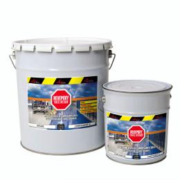 REVEPOXY TRAFIC INTENSIF - Peinture epoxy Revêtement sol industriel parking laboratoire entrepot bi-composant sans solvant