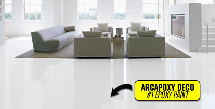 Epoxy Paint Arcapoxy Deco intense traffic easy to apply
