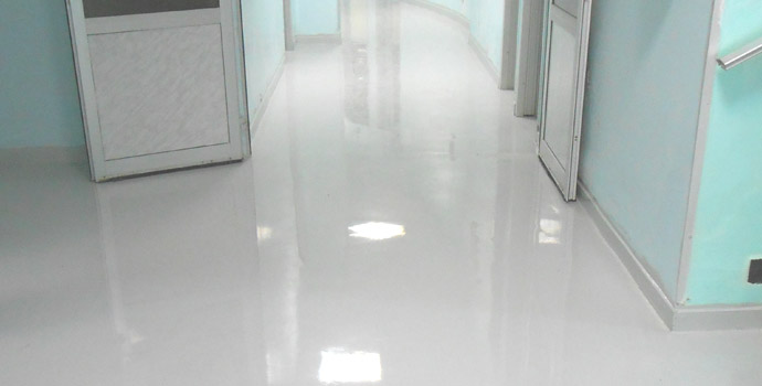 Epoxy Paint for Hospital floors
