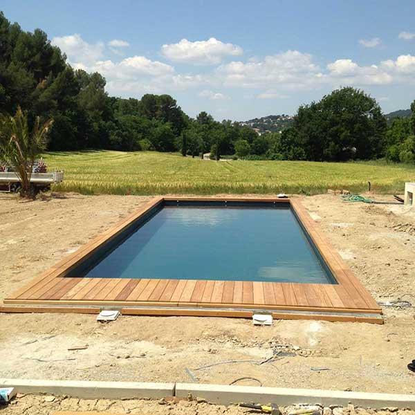 Peinture piscine coque polyester plus r sistant qu 39 un - Renovation piscine coque polyester ...