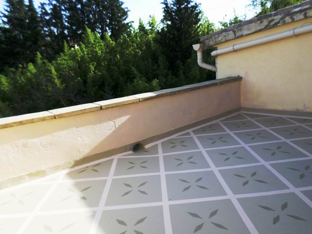 Etanch it terrasse balcons loggias peinture d corative et de protection pour - Eliminer mousse terrasse ...