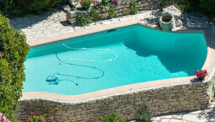 Peinture protection piscine beton ciment d coration bassin - Ideal protection piscine ...